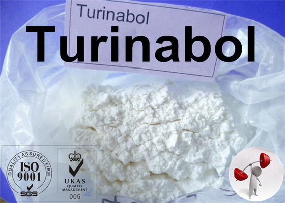 Bubuk Kristal Putih Turinabol 4- Chlorodehydromethyltestosterone untuk Binaraga supplier